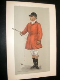 Vanity Fair Print 1903 Robert Rodney Wilmot, Fox Hunter